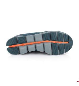 ON RUNNING - Baskets de Course Cloud X, Pétrole et Orange