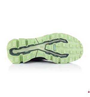 ON RUNNING - Baskets de Trail Running Cloudventure, Vert Foncé et Vert d'Eau