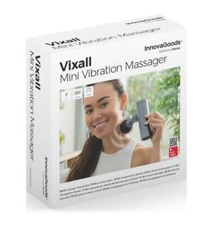 Mini Masseur Vibrant Vixall - Gris et Noir