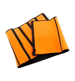 Ceinture de Sudation - Orange et Noir
