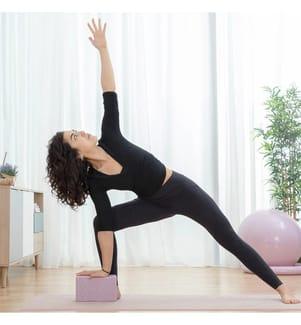 Bloc de Yoga - Rose Clair