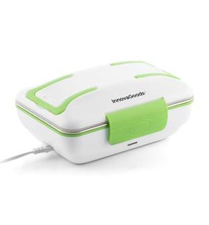 Boîte à Lunch Electrique - Blanc et Vert