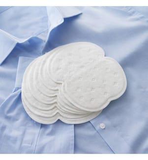 Lot de 10 Coussinets Anti Transpiration  - Blanc