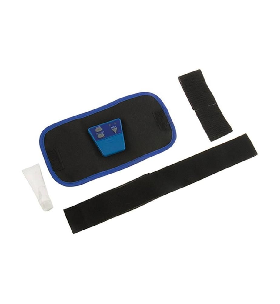 Ceinture D'Électrostimulation Musculaire - Noir et Bleu