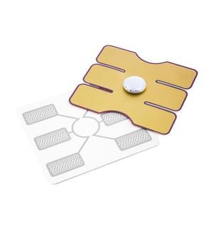 Patch Électrostimulateur Abdominal - Jaune
