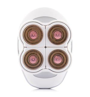 Epilateur 4-Blade LED - Blanc