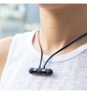 Ecouteurs Magnétiques - Noir