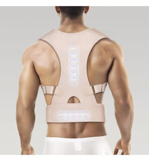 Support de Posture Magnétique InnovaGoods XL - Beige