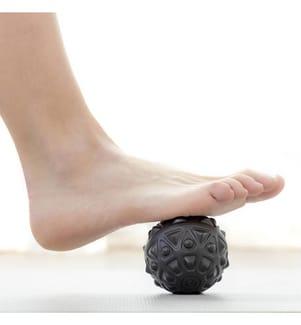 Balle de Massage Vibrante - Noir