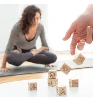 Jeu de Dés Yoga - 7 Pièces