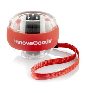 Boule Gyroscope d'Entraînement Spyrball InnovaGoods - Rouge