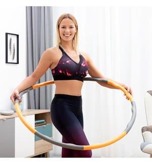 Anneau de Fitness Amovible InnovaGoods Hula Hoop