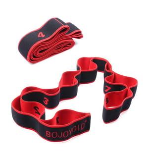 Sangle de Yoga - Rouge et Noir