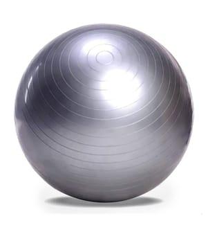 Balle de Gymnastique 65 cm - Argenté