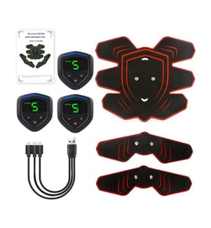 Set de 3 Electrostimulateurs - Rouge