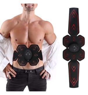 Ceinture Electrostimulation Musculaire Abdominale - Noir