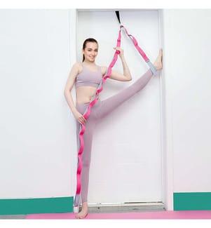 Ceinture De Yoga Avec Boucle De Prise Multiple