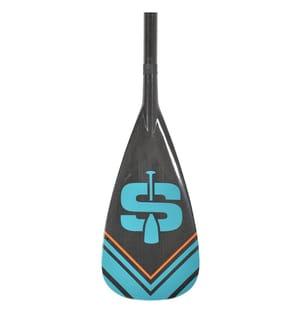Pagaie SUP Stand Up 175-215 cm - Noir et Bleu