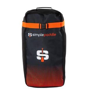 Sac de Transport Simple Paddle Compact - Noir et Orange