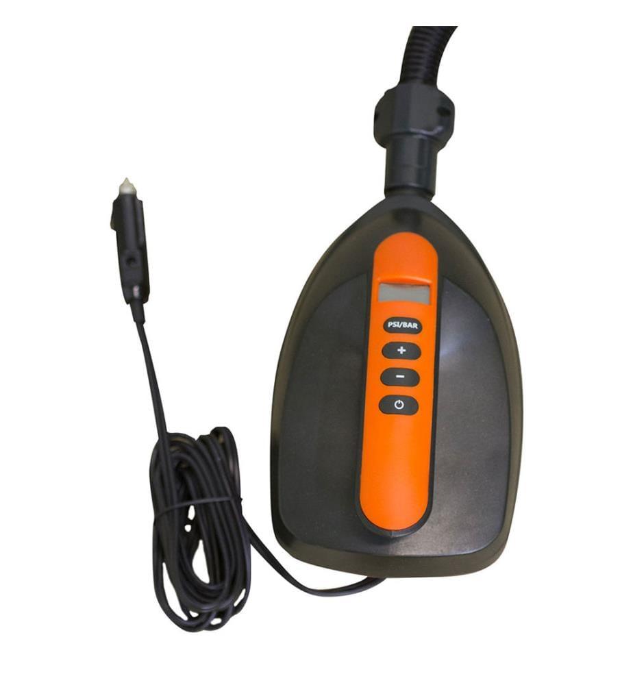Pompe SUP Electrique 12 V - Noir et Orange