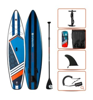 Kit SUP Simple Paddle Canyon 11,2' - Multicolore