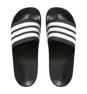 Mules Adilette CF - Black and White