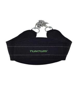 TUNTURI - Trainingsgürtel Schwarz