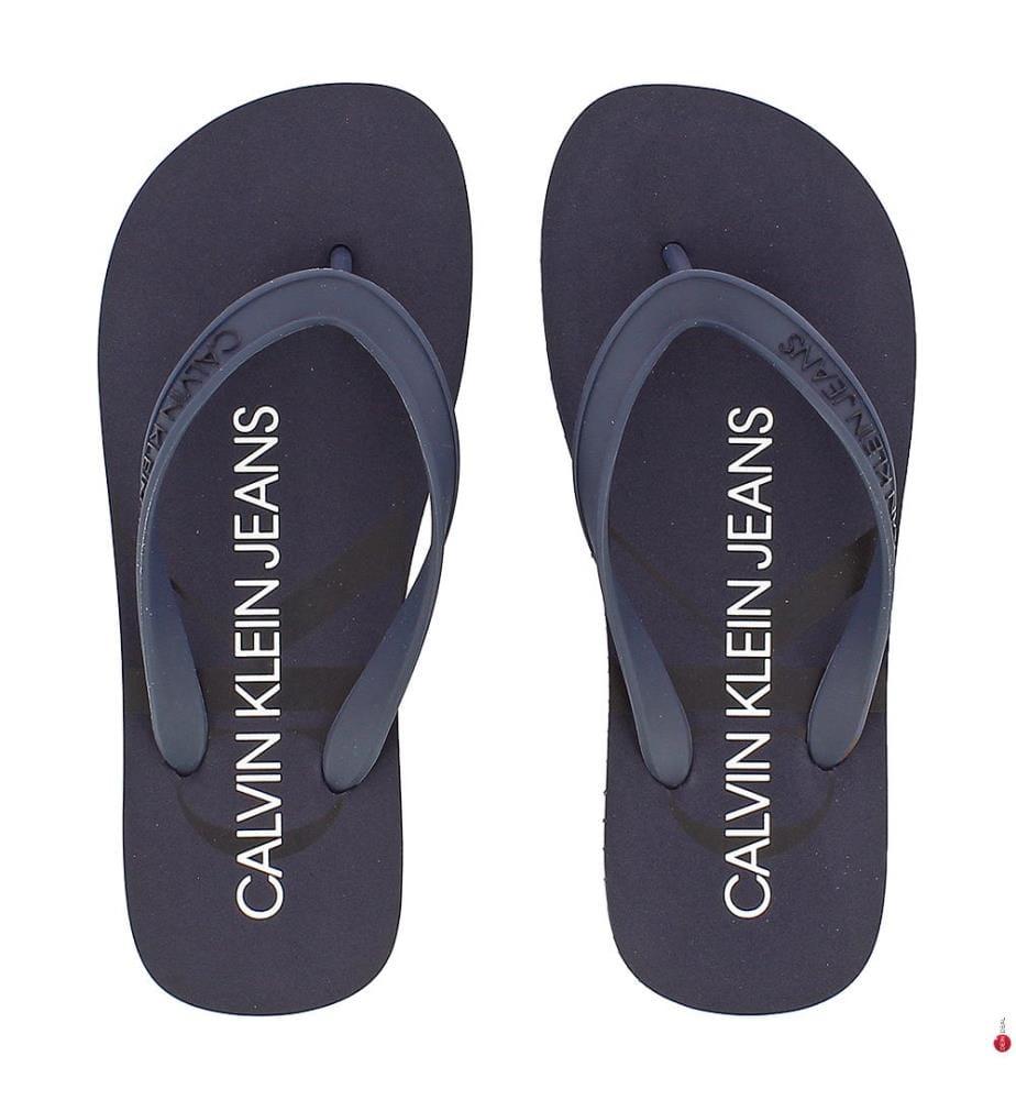 CALVIN KLEIN - Flip-Flops - Blue
