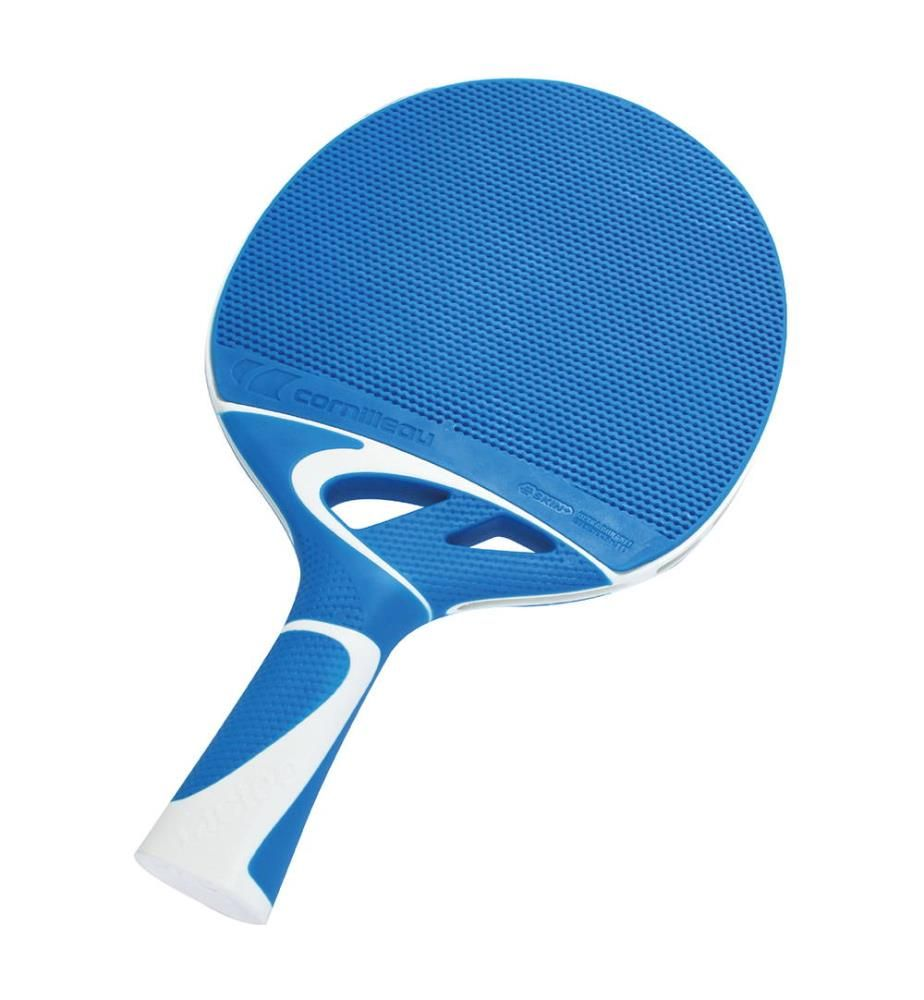 CORNILLEAU - Raquette de Ping Pong Cornilleau Tacteo 30 - Bleu et Blanc