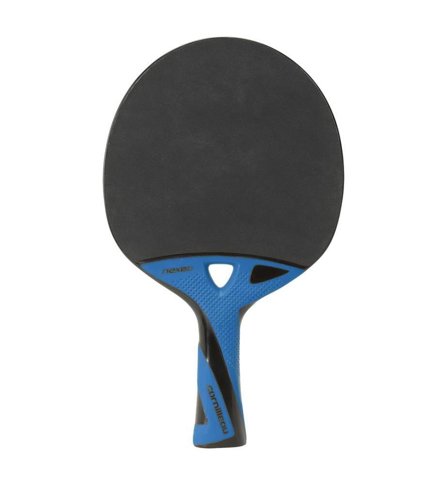 CORNILLEAU - Raquette de Ping Pong Cornilleau Nexeo 90 Carbon - Noir et Bleu