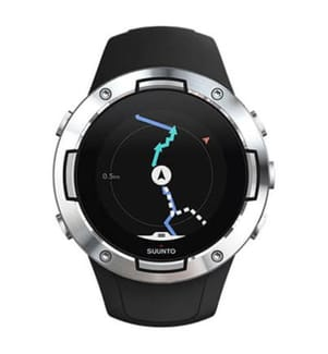 SUUNTO - Montre Connectée GPS 5 Black Steel