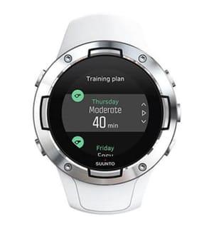 SUUNTO - Montre Connectée GPS 5 White