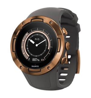 SUUNTO - Montre Connectée GPS 5 Graphite Copper