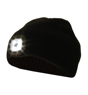 GLOVII - Bonnet Chauffant BB04B 50 lm - Noir