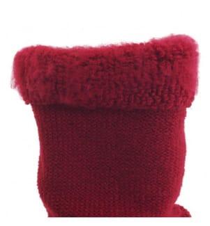 GLOVII - Chaussettes Chauffantes GQ3 - Rouge