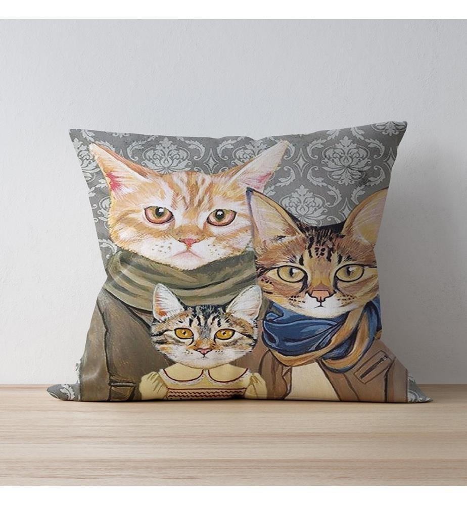 Cushion Cover 43 x 43 cm - Multicolor