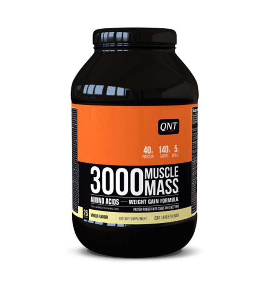 Muscle Mass 3000 Vanille, 1,3 kg