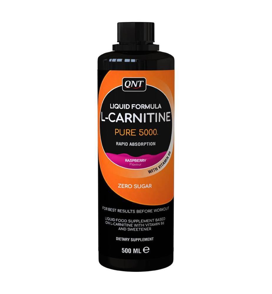 L-Carnitine Liquid  QNT Raspberry 500ml