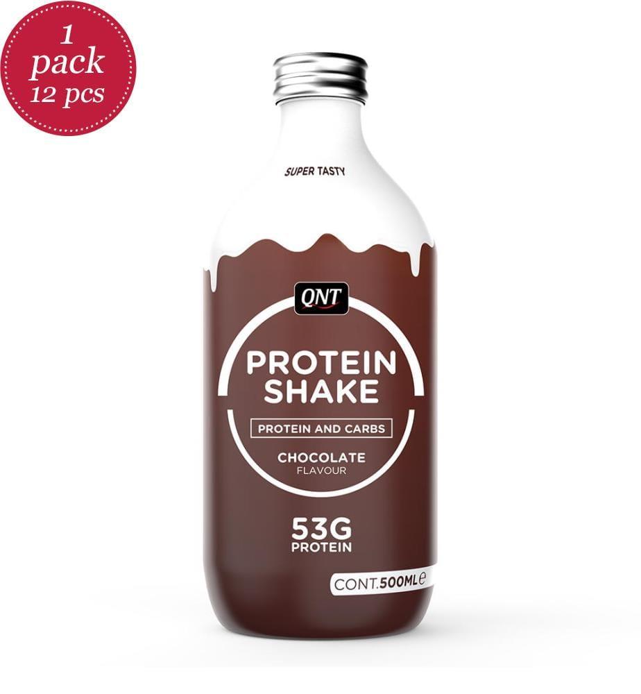 Lot de 12 Shakes Protéinés Protein Shake Chocolate - 12 x 500 ml