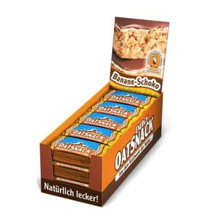 Pack de 15 Barres Energétiques Oatsnack Banana-Chocolate - 15 x 65 g