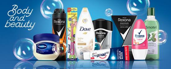 Signal - Rexona - Dove - Axe