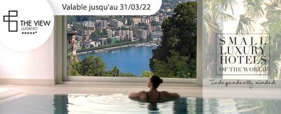 Vue de rêve sur Lugano