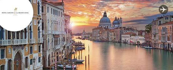 Journées romantiques à Venise