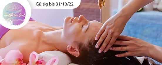 Ayurvedische Massage nach Wahl