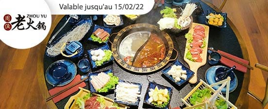 Fondue chinoise Hot Pot spécial