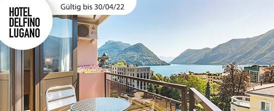 Mitten im schönen Lugano